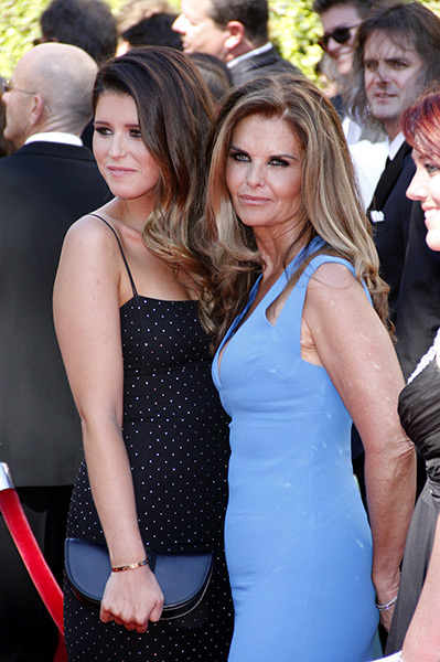 Maria-Shriver,-Katherine-Schwarzenegger