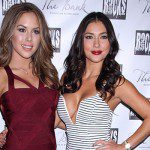 Arianny Celeste and Brittney Palmer hosted the Fight Night Afterparty at The Bank Nightclub