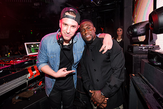 Eric-D-Lux-and-Kevin-Hart-at-Marquee-Nightclub