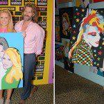 Sham Ibrahim Art Exhibiton at World of Wonder at success!