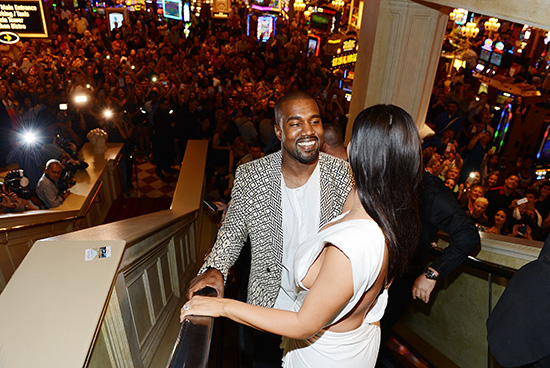 Kanye-West-and-Kim-Kardashian-West-at-TAO-Las-Vegas