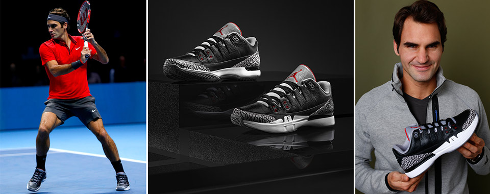 abf8fed8d20 BACK IN BLACK: NIKECOURT PRESENTS LATEST ZOOM VAPOR AJ3 BY JORDAN ...