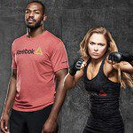 Reebok signs UFC Champions Ronda Rousey and Jon Jones