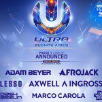 ULTRA WORLDWIDE ANNOUNCES BUENOS AIRES PHASE ONE LINEUP