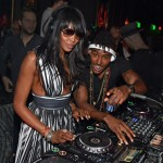 Naomi Campbell at OMNIA opening