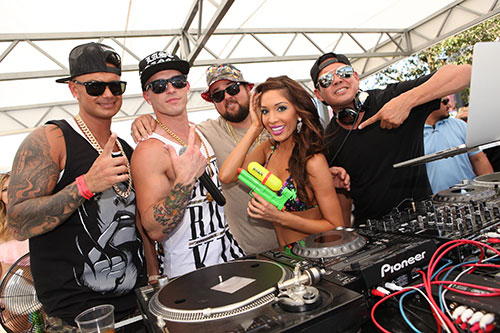 Pauly-D,-Mikey-P,-Chumlee,-Farrah-Abraham-and-DJ-Mark-Stylz-at-Ditch-Fridays