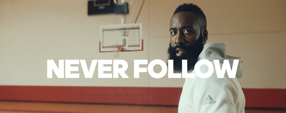 finest selection 92d73 303ab adidas and James Harden new film